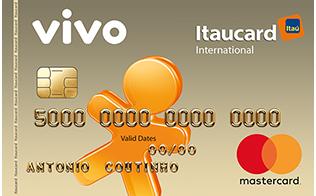 Cartão de Crédito VIVO Itaucard Internacional Mastercard Pré