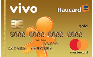 Cartão de Crédito VIVO Itaucard Gold MasterCard
