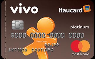 Cartão de Crédito VIVO Itaucard Platinum MasterCard