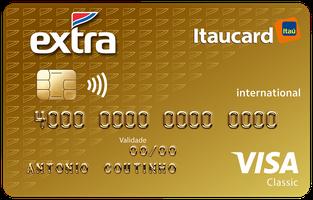 Cartão de Crédito EXTRA Itaucard International Visa