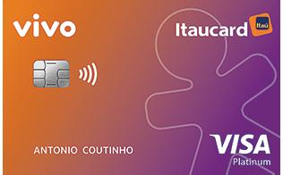 Cartão de Crédito Vivo Itaucard Platinum Visa