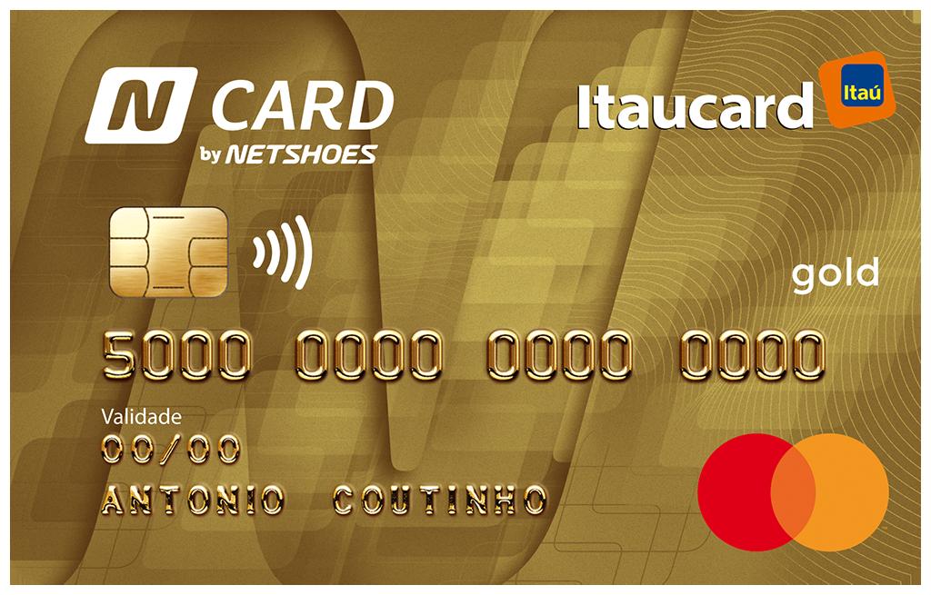 Cartão de Crédito N Card Itaucard 2.0 Gold MasterCard