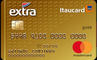 Cartão de Crédito EXTRA Itaucard Gold MasterCard