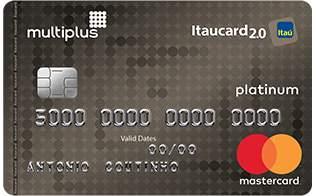 Cartão de Crédito Multiplus Itaucard 2.0 Platinum Mastercard