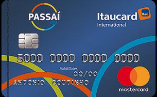 Cartão de Crédito Passaí Itaucard International Mastercard