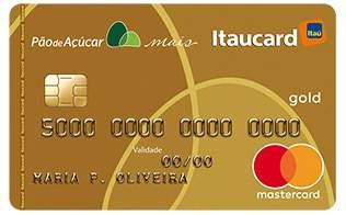 Cartão de Crédito Cartão Pão de Açúcar Mais Gold Mastercard