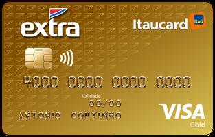 Cartão de Crédito EXTRA Itaucard Gold Visa