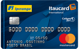 Cartão de Crédito Ipiranga Itaucard MasterCard