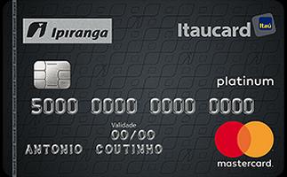 Cartão de Crédito Ipiranga Itaucard MasterCard Platinum