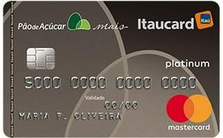 Cartão de Crédito Cartão Pão de Açúcar Mais Platinum Mastercard