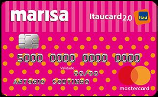 Cartão de Crédito Marisa Itaucard Nacional Mastercard 2.0