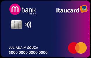 Cartão de Crédito Mbank Itaucard Internacional Mastercard