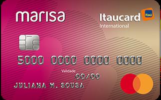 Cartão de Crédito Marisa Itaucard Internacional Mastercard