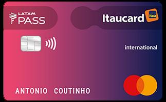 Cartão de Crédito LATAM PASS Itaucard Mastercard Internacional