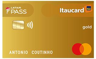 Cartão de Crédito LATAM PASS Itaucard Mastercard Gold
