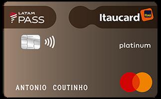 Cartão de Crédito LATAM PASS Itaucard Mastercard Platinum