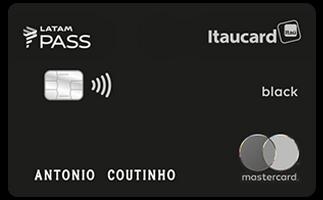 Cartão de Crédito LATAM PASS Itaucard Mastercard Black