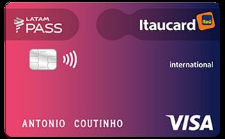 Cartão de Crédito LATAM PASS Itaucard Visa Internacional