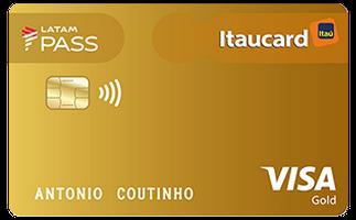 Cartão de Crédito LATAM PASS Itaucard Visa Gold