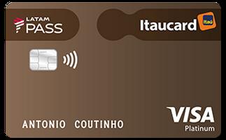 Cartão de Crédito LATAM PASS Itaucard Visa Platinum
