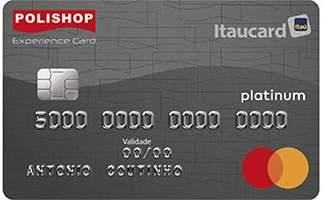 Cartão de Crédito Polishop Itaucard Mastercard Platinum