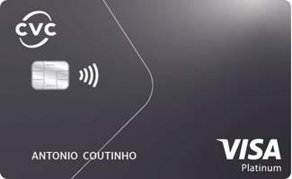 Cartão de Crédito CVC Itaucard VisaPlatinum