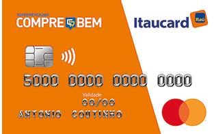 Cartão de Crédito Compre Bem Itaucard Mastercard Internacional