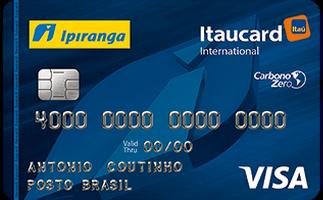 Cartão de Crédito Ipiranga Itaucard Visa