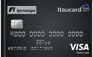Cartão de Crédito Ipiranga Itaucard Visa Platinum