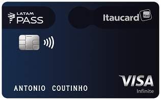 Cartão de Crédito LATAM Pass Itaucard Visa Infinite