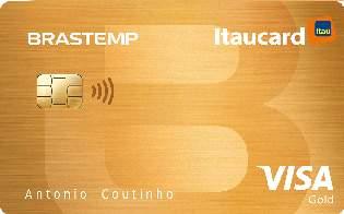 Cartão de Crédito Brastemp Itaucard Gold Visa