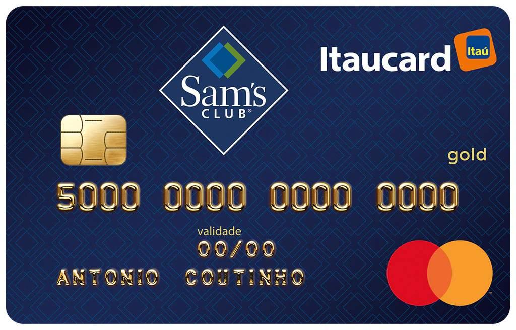 Cartão de Crédito Sam's Itaucard Mastercard Gold