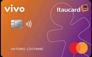 Cartão de Crédito Vivo Itaucard Cashback Gold Mastercard