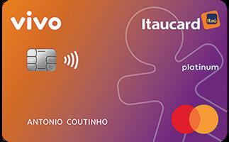 Cartão de Crédito Vivo Itaucard Cashback Platinum Mastercard