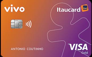 Cartão de Crédito Vivo Itaucard Cashback Gold Visa