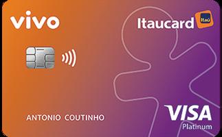 Cartão de Crédito Vivo Itaucard Cashback Platinum Visa