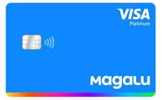 Cartão de Crédito Cartão Magalu Visa Platinum