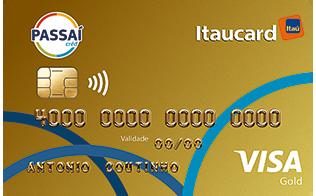 Cartão de Crédito Passaí Itaucard Visa Gold