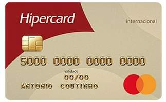 Cartão de Crédito Hipercard Internacional Mastercard