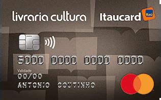 Cartão de Crédito Livraria Cultura Itaucard Internacional MasterCard