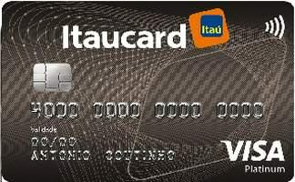 Cartão de Crédito Itaucard Platinum Visa