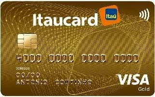Cartão de Crédito Itaucard Gold Visa