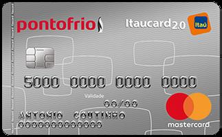 Cartão de Crédito Ponto Frio Itaucard 2.0 Nacional MasterCard