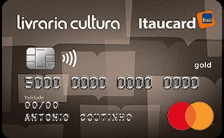 Cartão de Crédito Livraria Cultura Itaucard Gold MasterCard