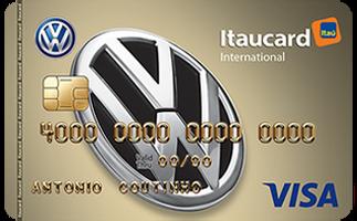 Cartão de Crédito Volkswagen Itaucard International Visa