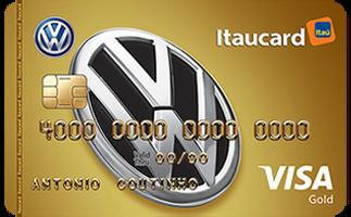 Cartão de Crédito Volkswagen Itaucard Gold Visa
