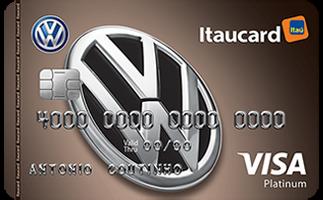 Cartão de Crédito Volkswagen Itaucard Platinum Visa