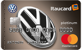 Cartão de Crédito Volkswagen Itaucard Platinum MasterCard