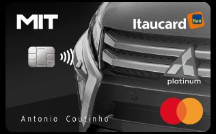 Cartão de Crédito MIT Itaucard Platinum MasterCard