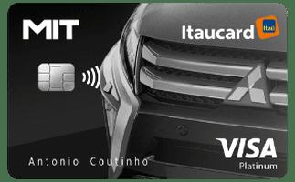 Cartão de Crédito Mit Itaucard Platinum Visa